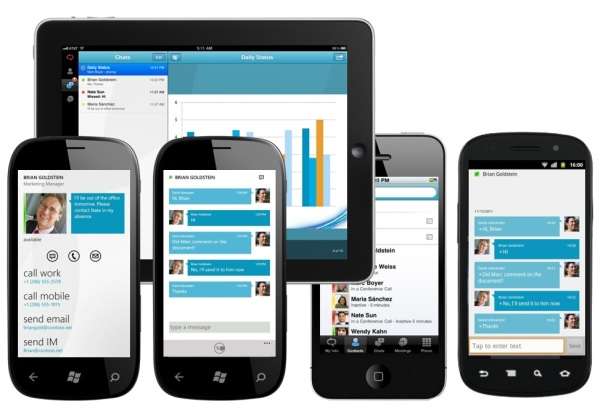 Lync 2013 Urządzenia mobilne